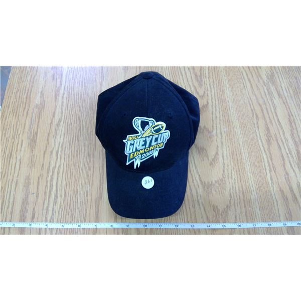 RARE - Genuine CFL -  90th Grey Cup Champs - 2002 - Edmonton Hat