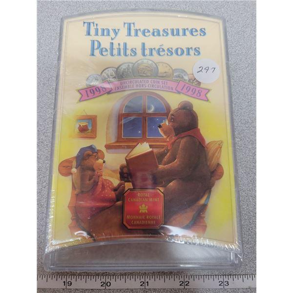SEALED -Uncirulated - 1998 Tiny Treasures