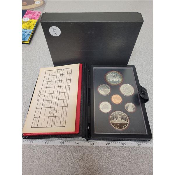 1981 double dollar coin set