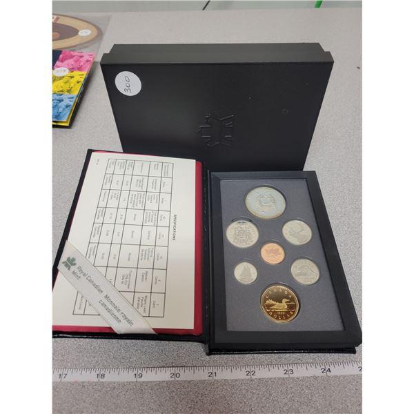1988 double dollar coin set