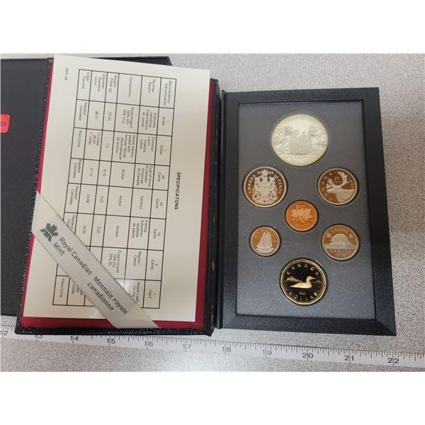1989 double dollar coin set