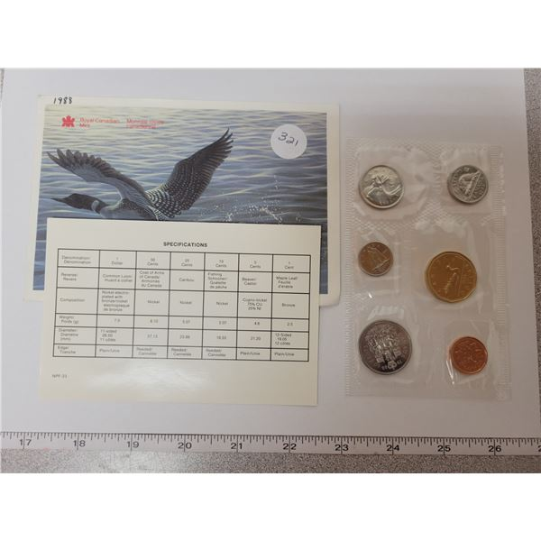 1988 Specimen Set