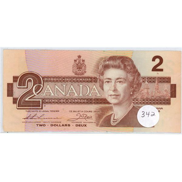 1986 - $2.00 Note -BGB7622740