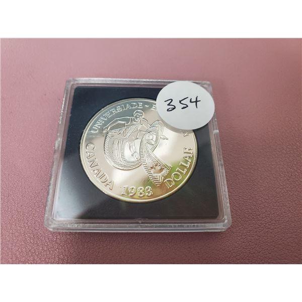 1983 - Universlade (games) Edmonton Silver Dollar