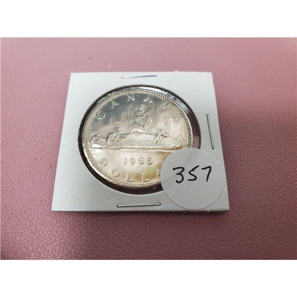 1966 Silver Dollar
