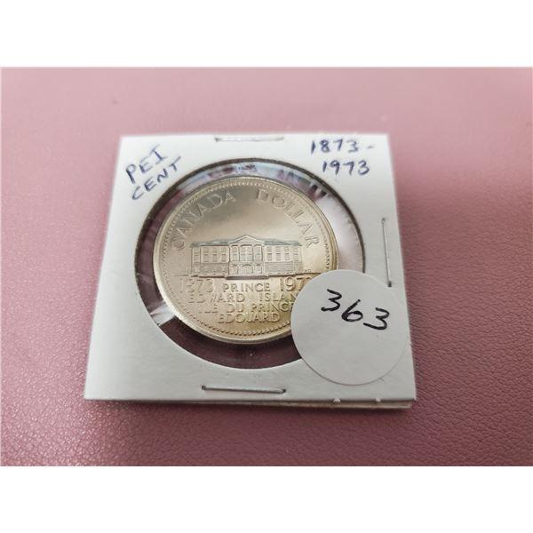 1973 Dollar - Uncirculated - P.E.I. Centennial