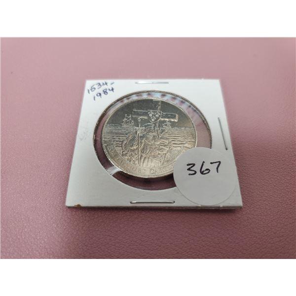 1984 Dollar - 1534-1984 Jacques Cartier - MS60