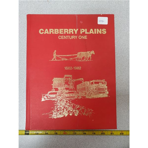 History book - Carberry, Manitoba