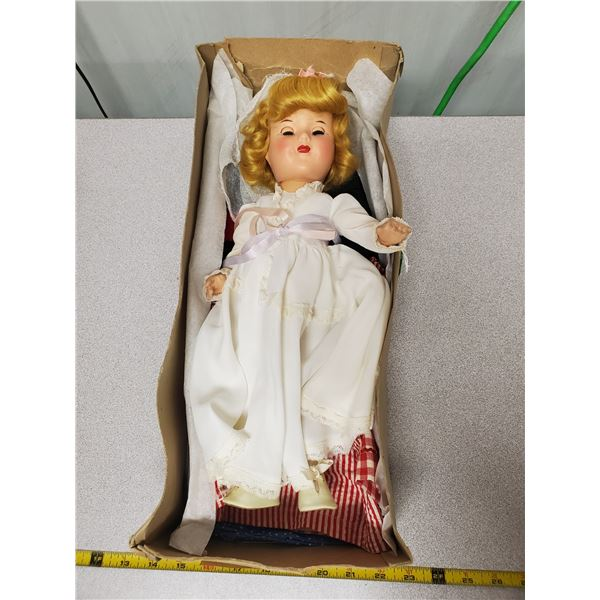 1950's Reliable doll wit original box