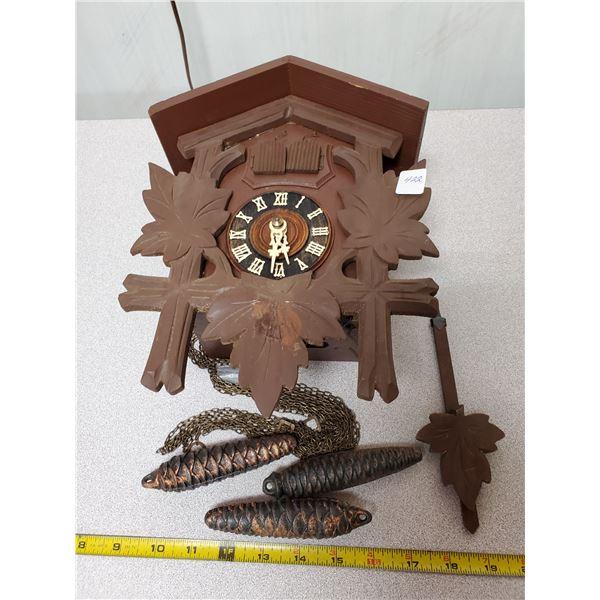 Cuckoo clock (working)