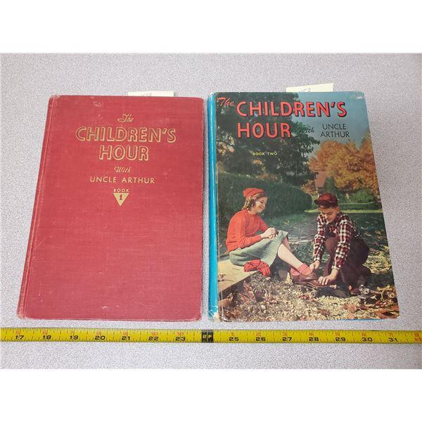 2 children's hour books 1 & 2