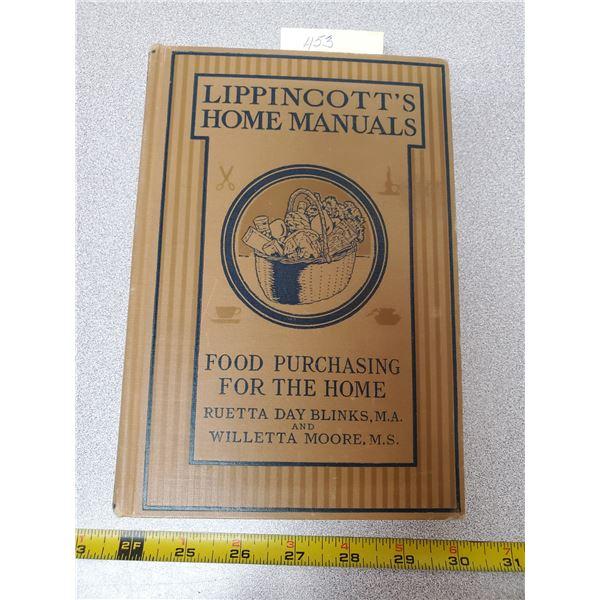 Lippincott's Home manuals (1932)