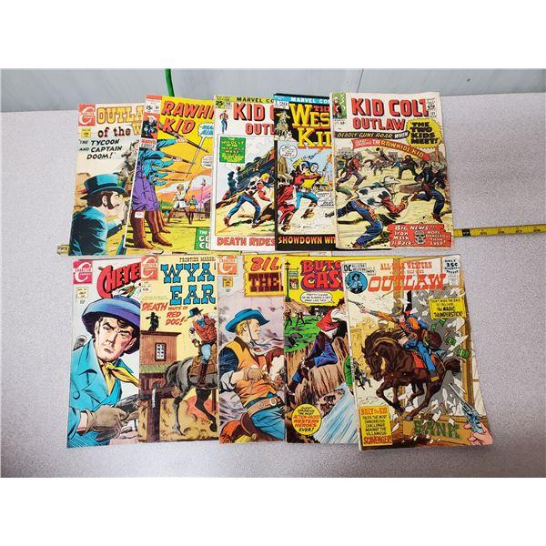 10 Western comics