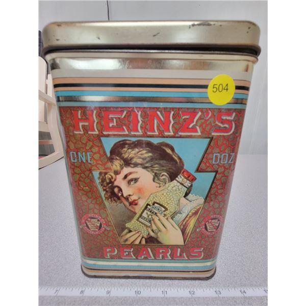 Heinz's advertising tin