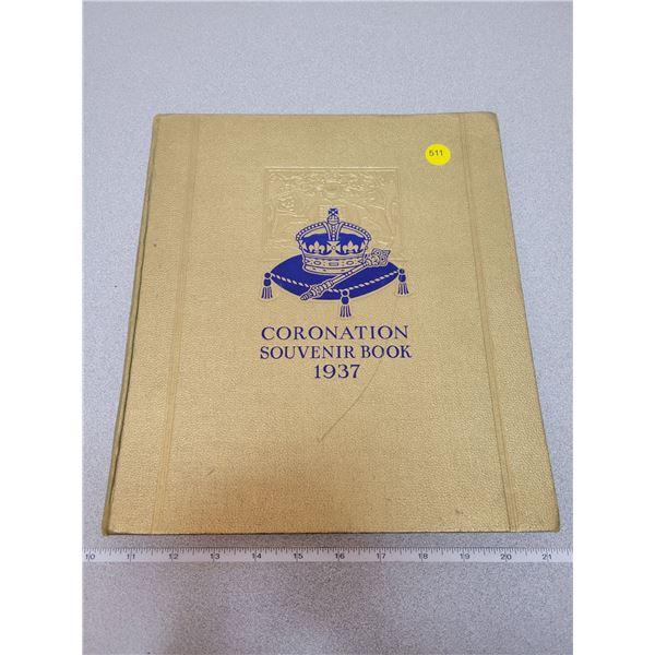 Coronation souvenir book 1937