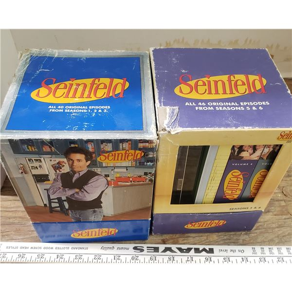 complete collection of original Seinfeld DVDs