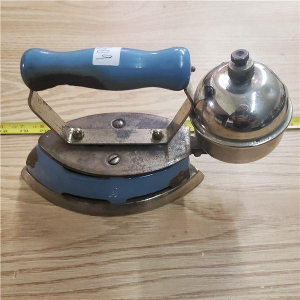 Blue Coleman gas iron model 4A