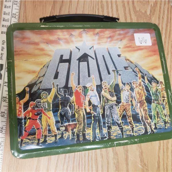 vintage metal GI Joe lunch kit with Thermos