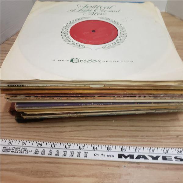 Lot of 33 1/3 LP's  (30)