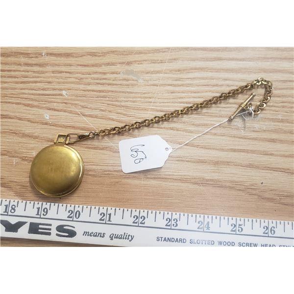 Hunter's case pocket watch