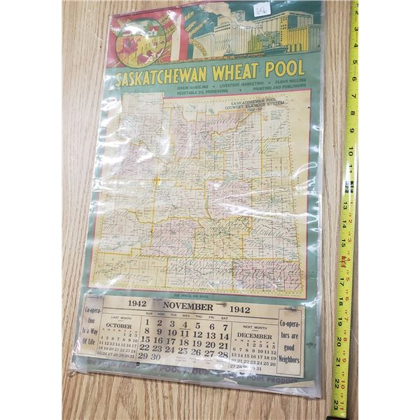 1945 Saskatchewan Wheat Pool calendar