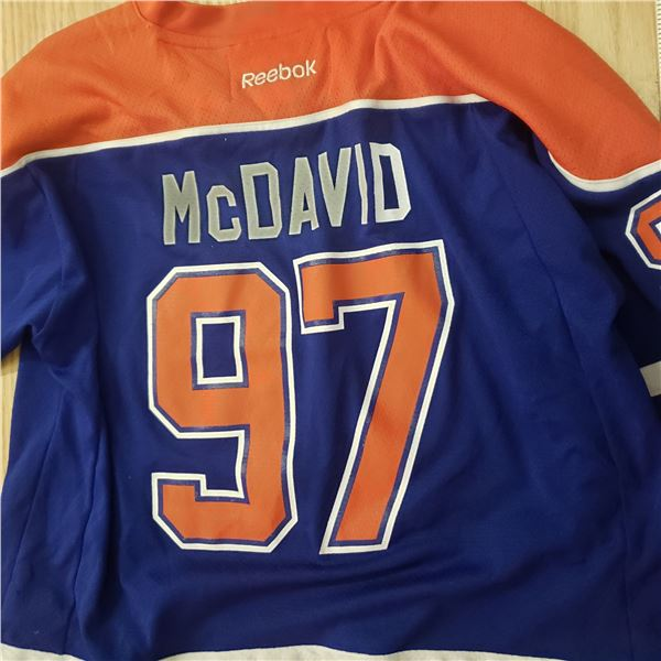 McDavid Oilers 97  Jersey XL Reebok