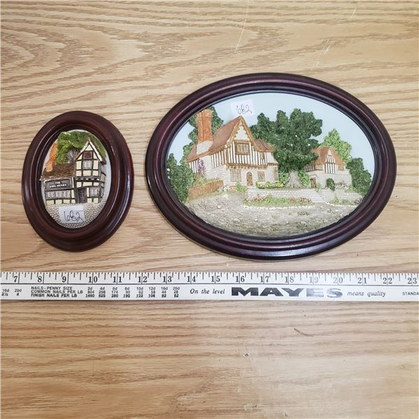 Hand crafted Cumbria England Wall plaques