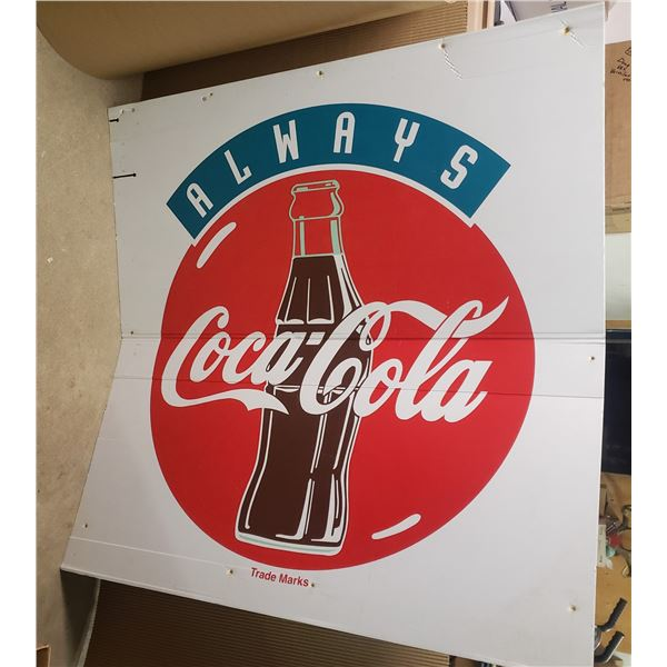 4' by 4' Coca Cola  sign