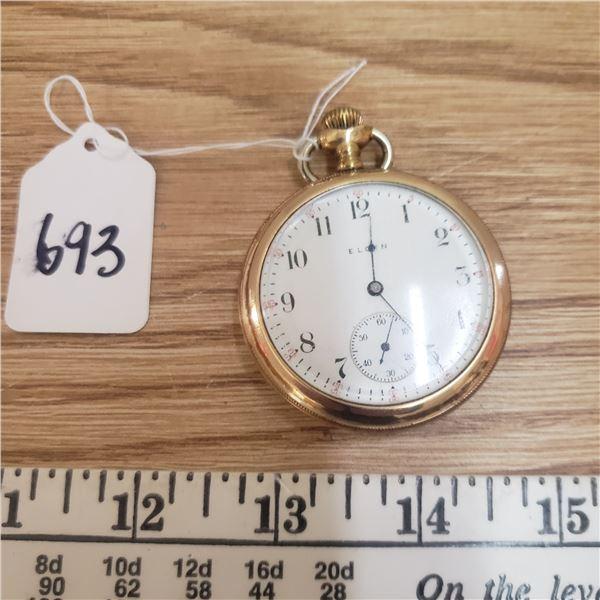 Elgin gold filled pocket watch Elgin Watch Co.