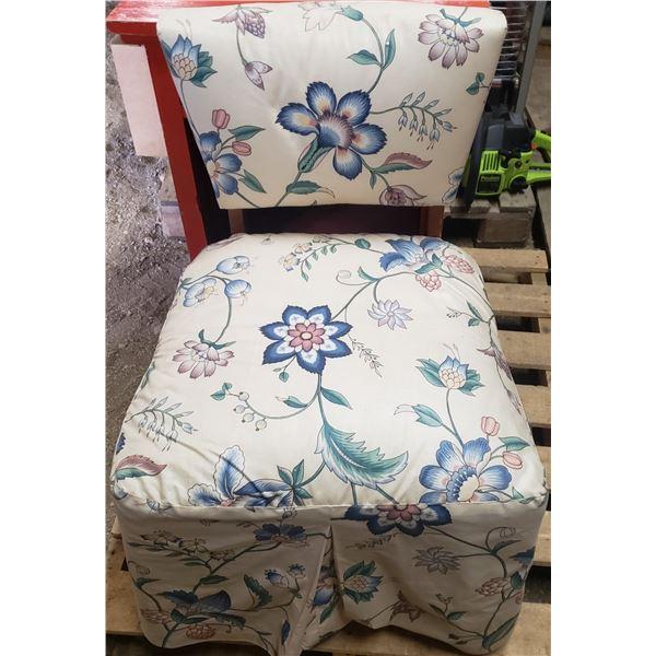 Retro hostess boudoir chair
