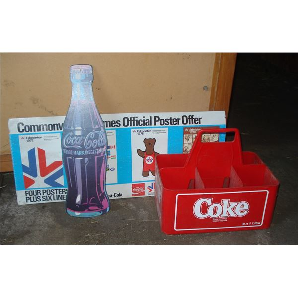cardboard coke coca cola items and carrier