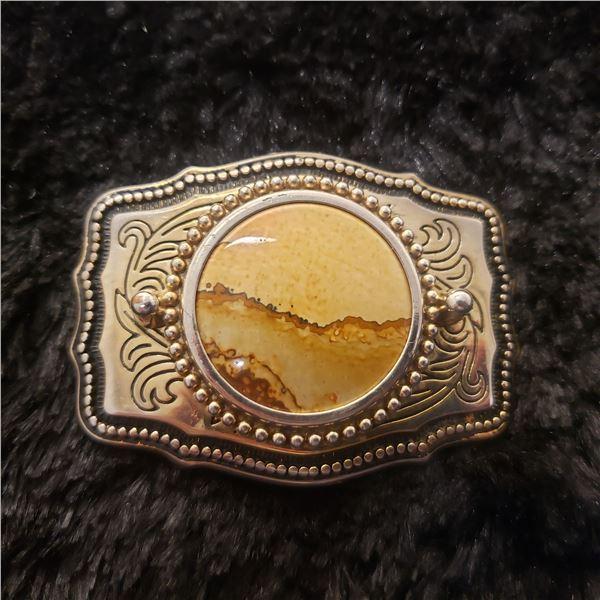 wonderstone cabochon belt buckle