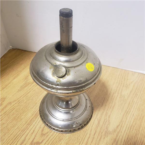 vintage oil lamp base