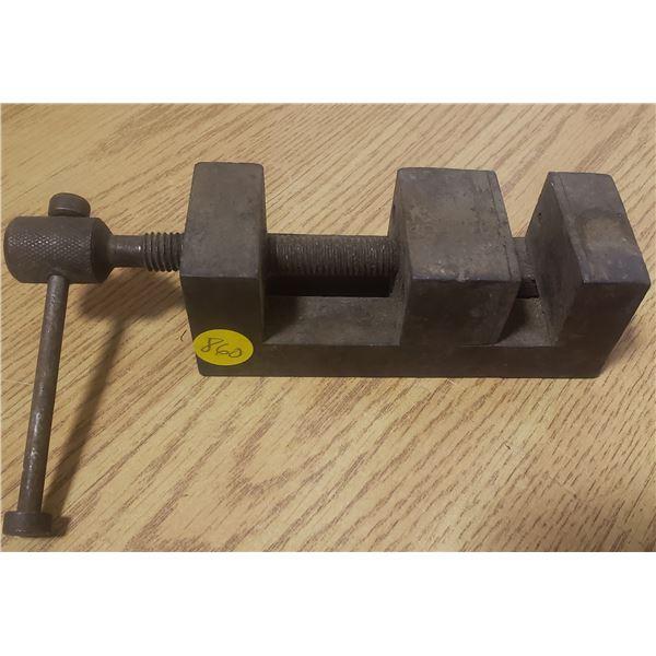 vintage drill press vice