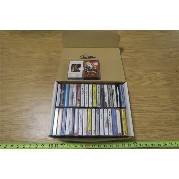 36 Cassette Tapes