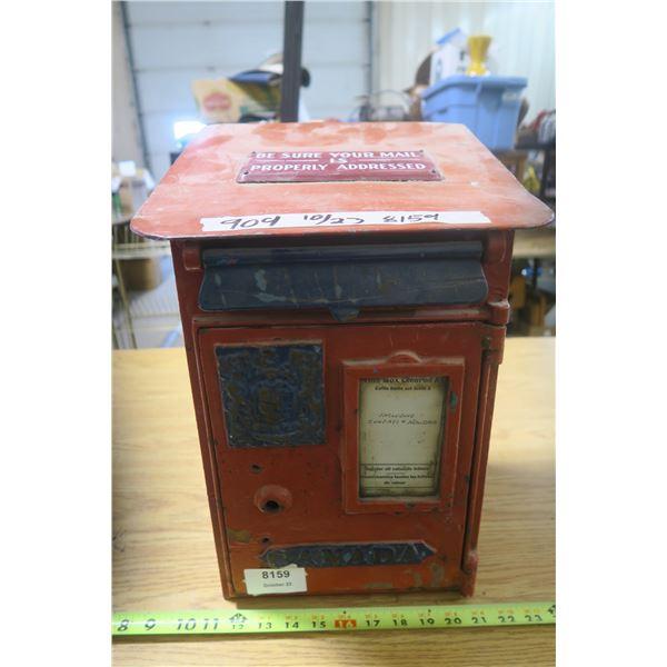 Antique Canada Post Mail Box