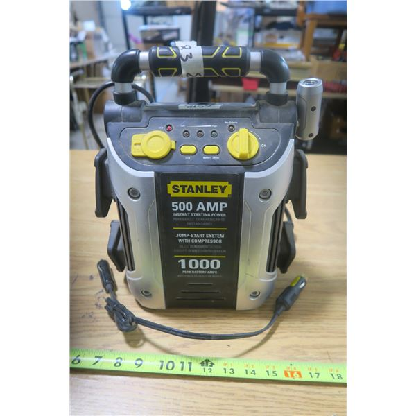 Stanley 500 Amp Booster Pack / Air Compressor