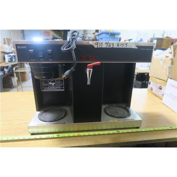 Bunn Dual Sation Coffee Maker Model VLPF-B
