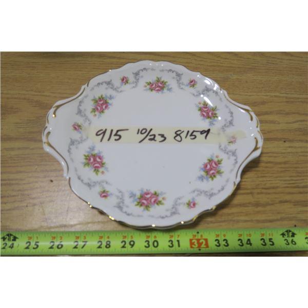 "Royal Albert ""Tranquility"" Plate"