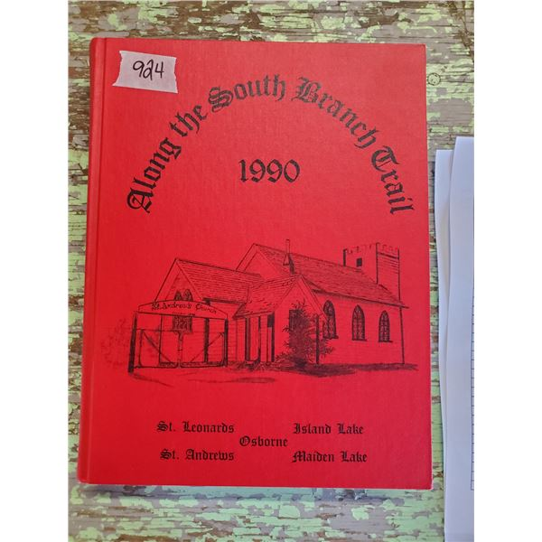 ST. ANDREWS SK & AREA HISTORY BOOK