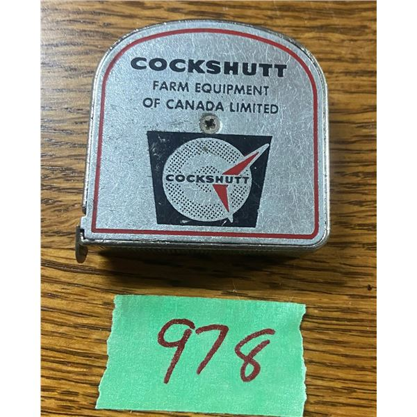 Cockshut farm equipment tape measure