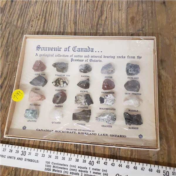 souvenir of Canada Rock Collection