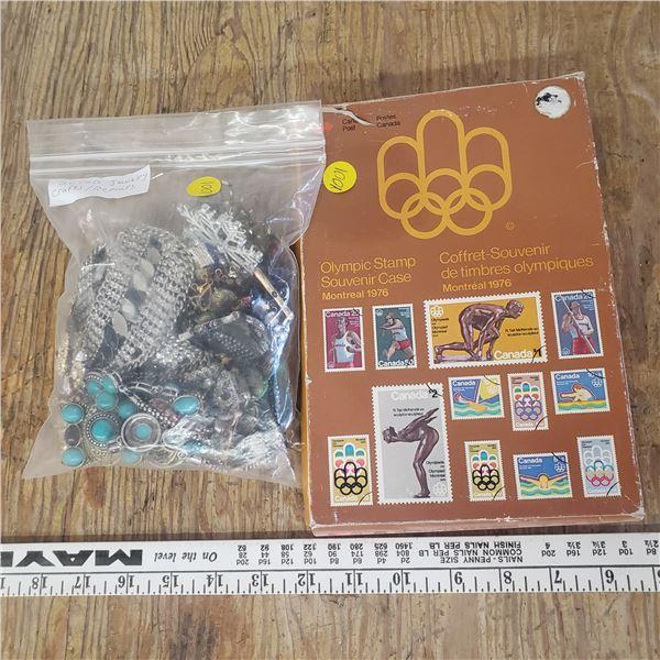 large bundle of scrap jewelry lot