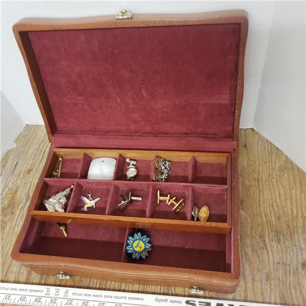 Jewelry box and contents