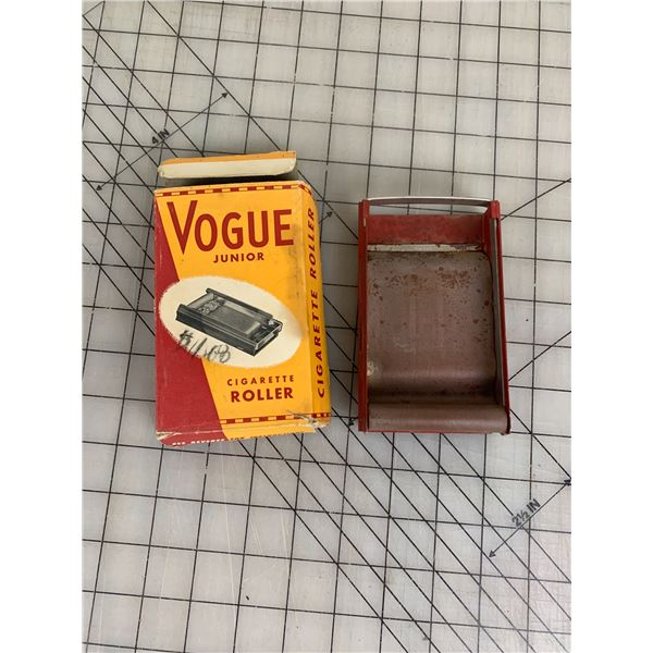 VOGUE JUNIOR CIGARETTE ROLLER AND BOX