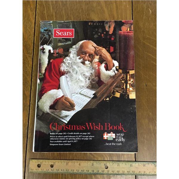 VINTAGE SEARS WISH BOOK CHRISTMAS 1976