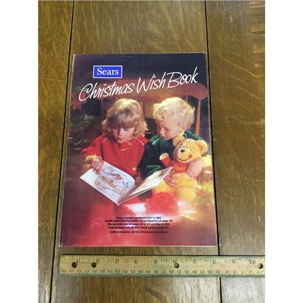 VINTAGE SEARS WISH BOOK CHRISTMAS 1982