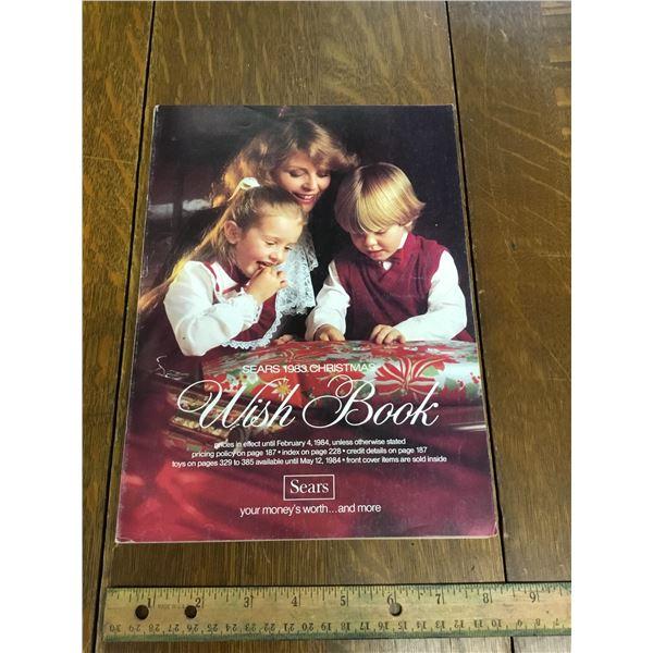 VINTAGE SEARS WISH BOOK CHRISTMAS 1983