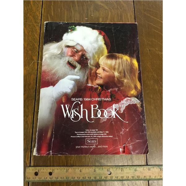 VINTAGE SEARS WISH BOOK CHRISTMAS 1984
