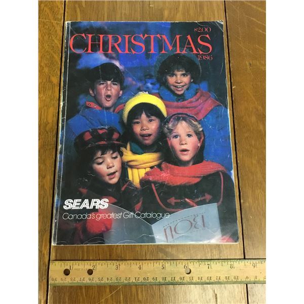 VINTAGE SEARS WISH BOOK CHRISTMAS 1986